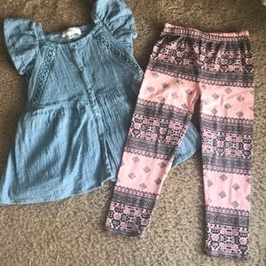 Jessica Simpson adorable girls outfit 4